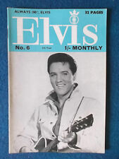 Elvis Presley -  Elvis Monthly Magazine - Series 5 - No 6 - June 1964