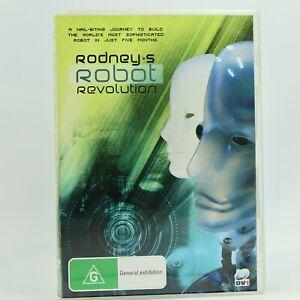 Rodney's Robot Revolution 2009 DVD Good Condition Free Tracked Post AU
