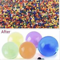 50000 Orbeez Water Aqua Soil Crystal Bio Gel Balls Beads Decoration Vase Filler