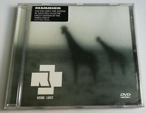 RAMMSTEIN - KEINE LUST / 4.TRACK UK DVD SINGLE *MEGARAR*