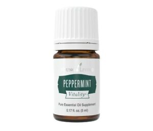 Young Living Peppermint Vitality Essential Oil 5ml - New!