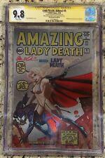 Lady Death Killers #1 Metal Edition CGC SS 9.8 Amazing Fantasy #15 homage 25/25