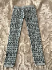 Wet Seal Womens Leggings With Soft Fleece Lining Size ML