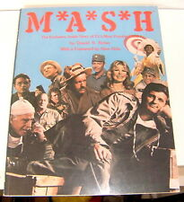 "MASH ""M*A*S*H The Exclusive, Inside Story"" 1980 MASH LQQK!!!"