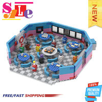 The Restaurant in Among US Building Blocks Good Quality Bricks Toys 1030PCS