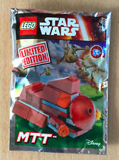 LEGO SET star wars POLYBAG FIGURINE MINIFIG NEUF VAISSEAU DROID CARRIER MTT