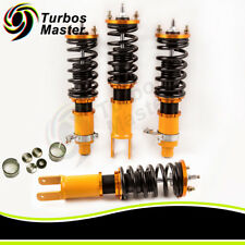 For 96-00 CIVIC ADJUSTABLE DAMPER COILOVERS CONTROL LOWERED SPRINGS TOP MOUNTS