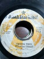 "Claudius Linton-Crying Time 7"" Vinyl Single REGGAE ROOTS"