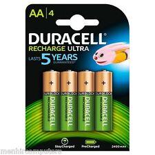 Batterie Ricaricabili DURACELL STILO 2500 mAh pila stilo 1,2 V. AA 4 pile HR6