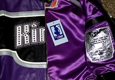 JEFF HAMILTON NBA LADIES KINGS ITALIAN LAMBSKIN JACKET. JUST REDUCED: WHOLESALE