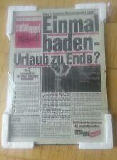 Dachbodenfund Werbeplakat SEBAMED Sommer 1987 Glasblocker 30x42 neu Rarität
