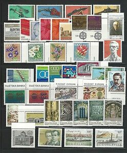 Yugoslavia Sc#1416-1456,  1979 Year  Collection of 41 Stamps   Mint NH w/OG