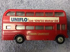 """A BUDGIE TOY A.E.C.""""ROUTEMASTER"""" 64 SEATER VINTAGE LONDON TRANSPORT BUS"""