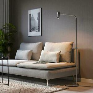 "Ikea VIRRMO Floor/reading lamp, nickel plated 57 "" FREE SHIPPING"