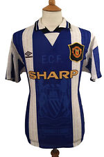 Manchester United 1994-96, Away 'Kanchelskis' Shirt (Pre-Owned) M.