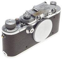 IIIA LEITZ M39 SCREW MOUNT RANGE FINDER 35mm FILM CAMERA VINTAGE LEICA 3 a BODY
