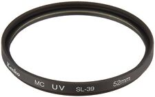 Kenko-Tokina 52mm UV (0) Multi-Coated SL-39 Optical Glass Filter - Made in Japan