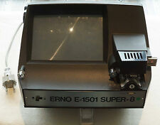 Erno E-1501 Super 8 Normal 8 EDITOR FILMBETRACHTER VIEWER Projektor
