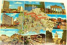 Berlin bleibt doch Berlin Ansichtskarte 50er 60er Jahre 02 å *