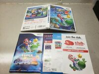 NO GAME Super Mario Galaxy 2 original case and Manual ONLY NO GAME INCLUDED