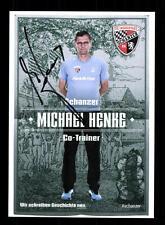 Michael Henke Autogrammkarte FC Ingolstadt 2015-16 Original Signiert+A 125767