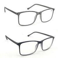 NEW DESIGN 2018 Designer Reading Glasses in Grey or Black+1.0+1.5+2.0 TN83