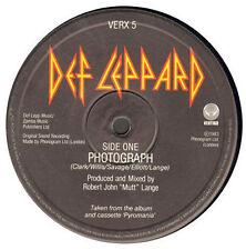 DEF LEPPARD - Photograph / Bringin' On The Heartbreak / Mirror, Mirror - Vertigo