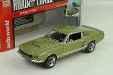 1967 Shelby GT500 green metallic Road&Track Cover Car  1:18 Auto world Ertl