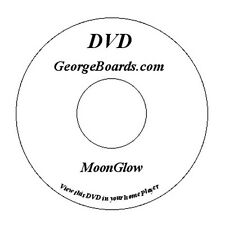 GeorgeBoards Lap Steel Guitar lesson DVD MoonGlow C6th tuning c-e-g-a-c-e new