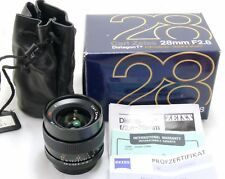 Zeiss 28mm f/2.8 Distagon T * MM MMJ Objektiv Contax/Yashica mount C/Y Boxed MINT