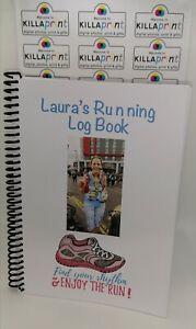 Personalised Running Log Book