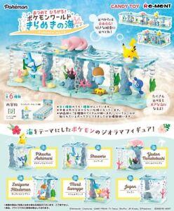 Re-Ment PokeMon Pikachu Marine World Desktop Figure Ocean Full Set Rement