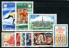 ST PIERRE et MIQUELON 1968 423-431 ** POSTFRISCH JAHRGANG KOMPLETT 123€(F4048