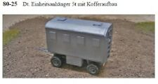 MGM 080-025 1/72 Resin WWII German Trailer with 5T Box Body