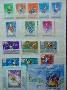 STAMPS/Romania/olympic games