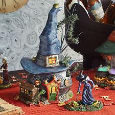 Dept 56 Halloween Snow Village Toads & Frogs Witchcraft Haunt 4036591 NEW NIB