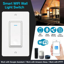 Smart Switch Wall Light Touch WIFI Remote Voice Control For Alexa & Google  ☇