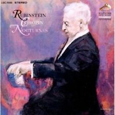 ARTUR RUBINSTEIN - NOCTURNES  2 CD  19 TRACKS FREDERIC CHOPIN SOLO PIANO  NEU