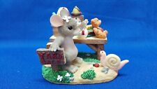 """Charming Tails Artist Signed """"Friendship Is Always A Great Bargain"""" Ex Condition"""