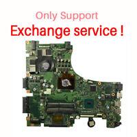 EXchange !! For ASUS ROG GL553V GL553VD Motherboard With i7 7700HQ Mainboard