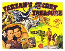 TARZAN'S SECRET TREASURE LOBBY CARD POSTER HS-B 1941 JOHNNY WEISSMULLER