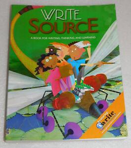 Write Source Grade 4 Writing Thinking Learning Language Arts Homeschool 2009 PB