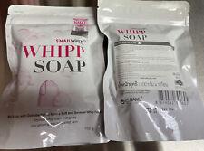 Snail White Whipp Soap Bar Foam with Delicate Softening White Namu Life 100g.