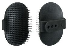 Dog & Cat Rubber Grooming Brush with Adjustable Hand Loop