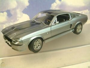 """GREENLIGHT 1/18 DIECAST 1967 SHELBY MUSTANG GT500 ELEANOR """"GONE IN 60 SECONDS"""""""