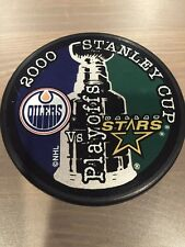 Edmonton Oilers Dallas Stars 2000 Stanley Cup Playoffs NHL Hockey Puck