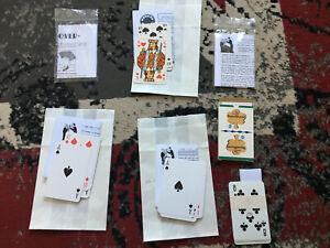 7 Kartentricks Zaubertricks Trickkarten Mentalmagie Zaubern Mentalismus Konvolut