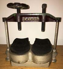 Lamac La-Macker Shoe Sole press Shoe repair Cobbler shoe maker equipment ERIE,PA