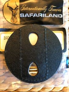 Safariland Circular Star Style Easy Access Badge Holder Black Plain 1/2/7350