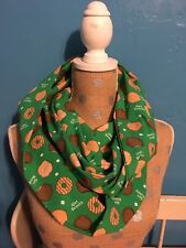 Girl Scout Cookie Thin Mints Tagalongs Samoas Infinity Scarf